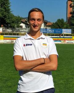 Christian Silvestro, Difensore Juniores Nazionale Verbania Calcio Stagione 2019-2020