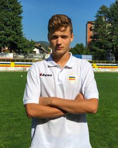 Giorgio Minniti, Difensore Juniores Nazionale Verbania Calcio Stagione 2019-2020