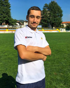 Rocco De Angelis, Centrocampista Juniores Nazionale Verbania Calcio Stagione 2019-2020
