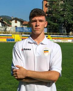 Simone Della Vedova, Difensore, Attaccante Juniores Nazionale Verbania Calcio Stagione 2019-2020