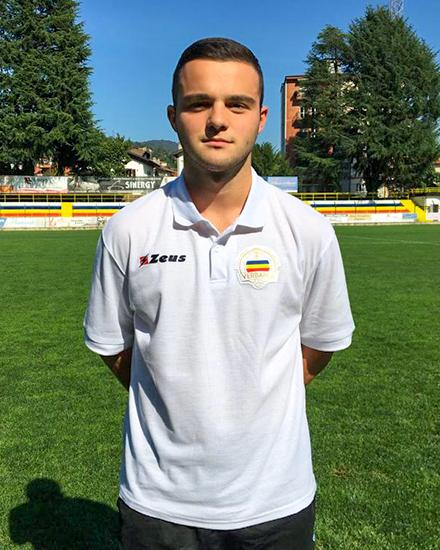 Yibertan Veka, Difensore Juniores Nazionale Verbania Calcio Stagione 2019-2020