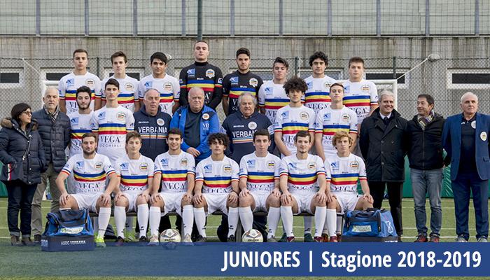 Juniores Verbania Calcio Campionato Provinciale VCO Stagione 2018-2019
