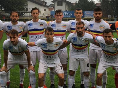 Verbania Calcio Caronnese formazione scesa in campo