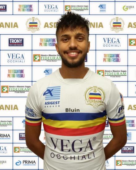 Verbania Calcio Yassine Sadouk