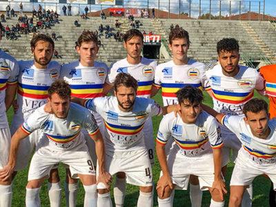 Lucchese Verbania Calcio formazione scesa in campo