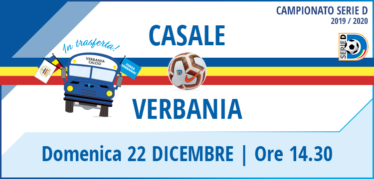Casale Verbania Calcio Campionato Serie D 22 Dicembre