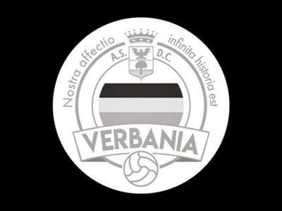 Verbania Calcio Logo Negativo