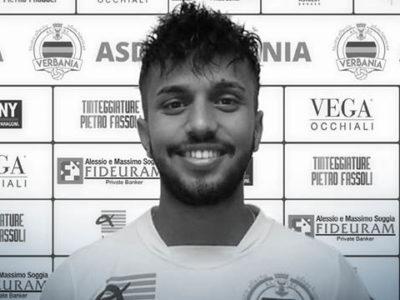 Verbania Calcio Yassine Sadouk Saluti