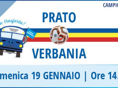 Prato-Verbania Calcio Campionato Serie D 19 Gennaio