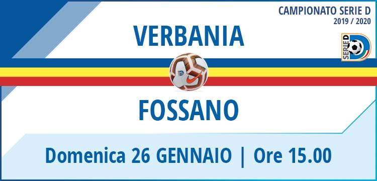 Verbania Calcio Fossano Campionato Serie D 26 Gennaio