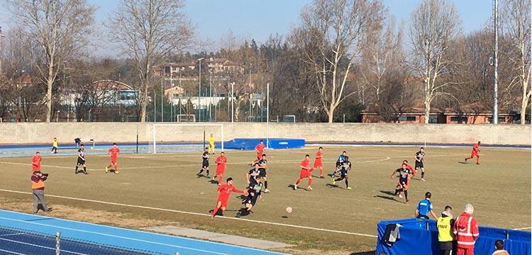 Calcio Chieri - Verbania Campionato Serie D 2 Febbraio