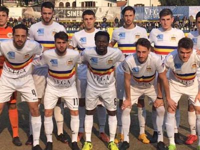 Verbania-Seravezza Campionato Serie D 9 Febbraio 2020