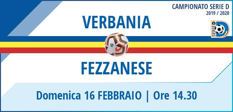 Verbania Calcio - Fezzanese Campionato Serie D 16 Febbraio 2020