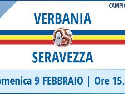 Verbania Calcio-Seravezza Pozzi Campionato Serie D 9 Febbraio