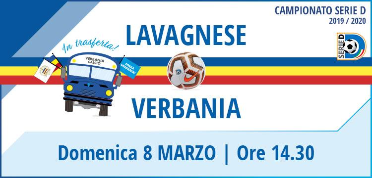 Lavagnese - Verbania Calcio Campionato Serie D 8 Marzo 2020