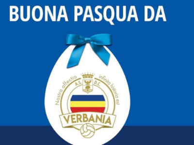 Verbania Calcio Auguri Buona Pasqua 2020