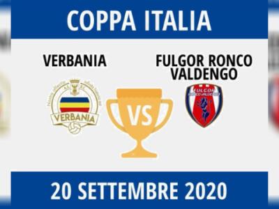 Verbania Calcio Coppa Italia Verbania-Fulgor Ronco Valdengo