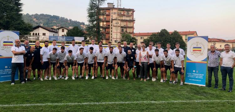 Verbania Calcio Immagini News Presentazione Stagione 2020-2021 Prima Squadra Staff Dirigenza Sindaco