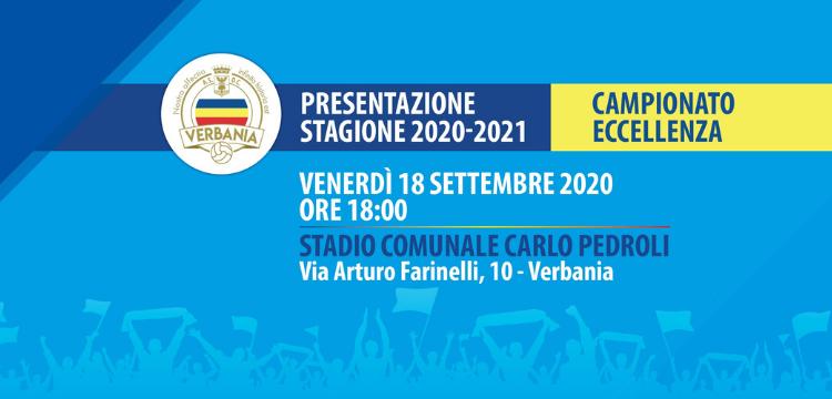 Verbania Calcio Immagini News Presentazione Stagione 2020-2021