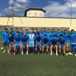 Verbania-Calcio-Luca-Porcu-primo-giorno-preparazione