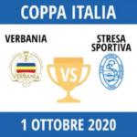 Verbania Calcio Stresa Sportiva Coppa Italia Terza Fase 1 Ottobre 2020