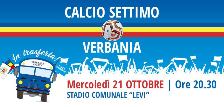 Calcio Settimo - Verbania Calcio Sesta Giornata Camionato Eccellenza 2020-2021
