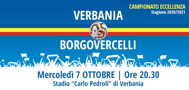 Verbania Calcio-Borgovercelli Terza Giornata Campionato Eccellenza 2020-2021 7 Ottobre