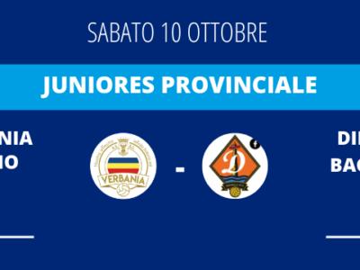 Verbania Calcio - Dinamo Bagnella Juniores Provinciale News Risultato