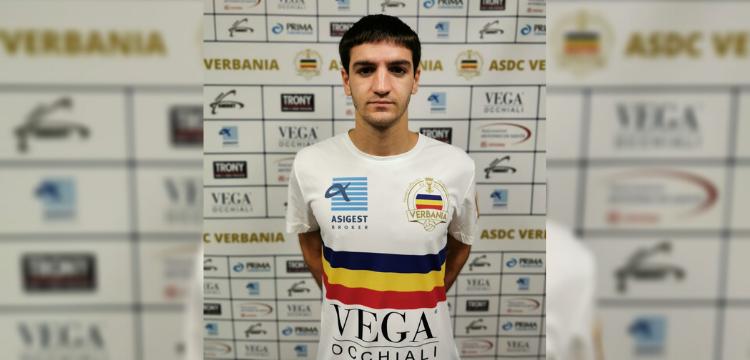 Verbania Calcio Immagini News Filippo Antonioli Centrocampista