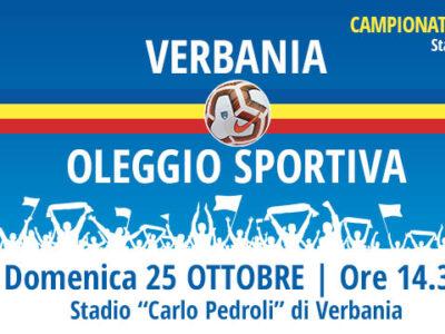 Verbania Calcio - Oleggio Sportiva Settima Giornata Campionato Eccellenza 2020-2021
