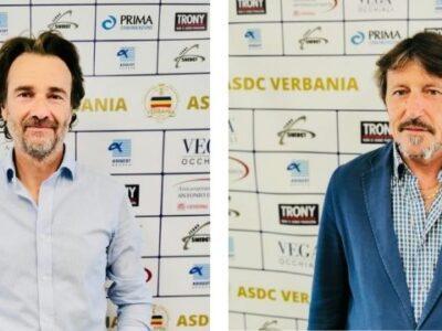 Verbania-Calcio-Massimiliano-Scotto-Claudio-Giavani